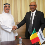 Suhail Al Banna of DP World, and Moulaye Ahemd Boubacar of the Malian government