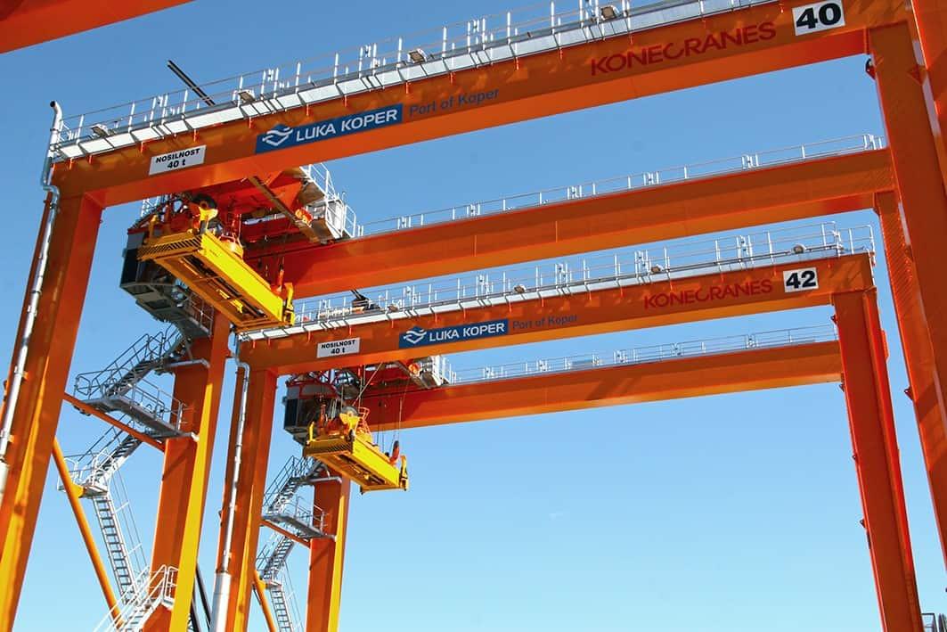 Konecranes to deliver five eRTGs to Luka Koper