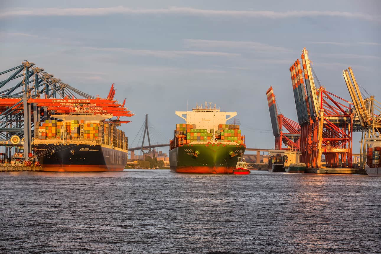 Lack of empty boxes hampers Hamburg's throughput