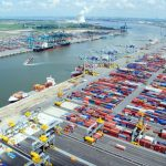 Antwerp is the second largest container port in Europe