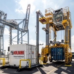 London Gateway has invested in electric cranes