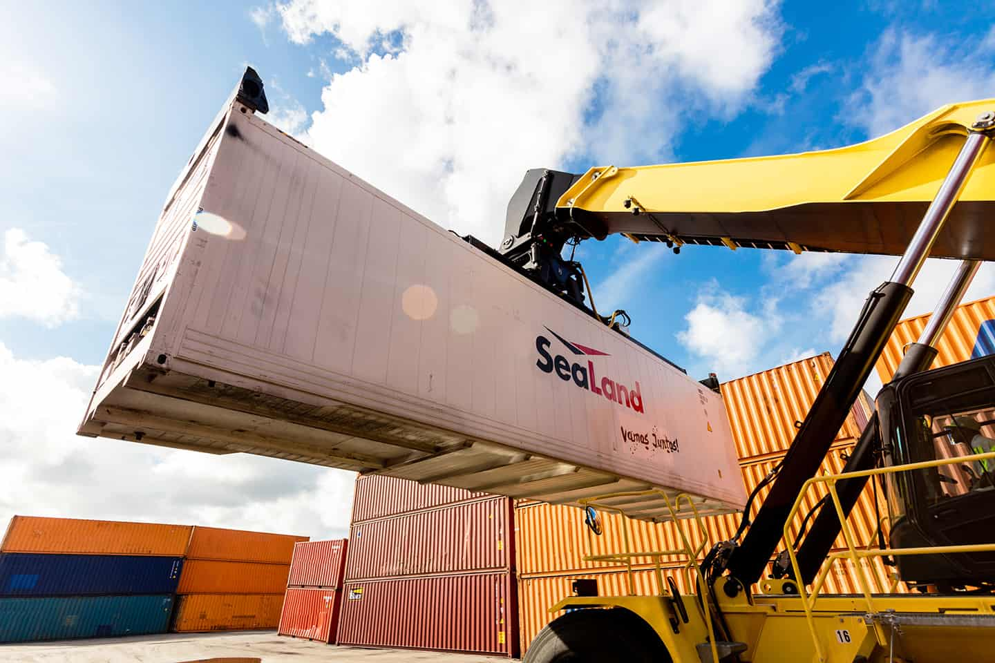 Maersk Line and Damco combine services