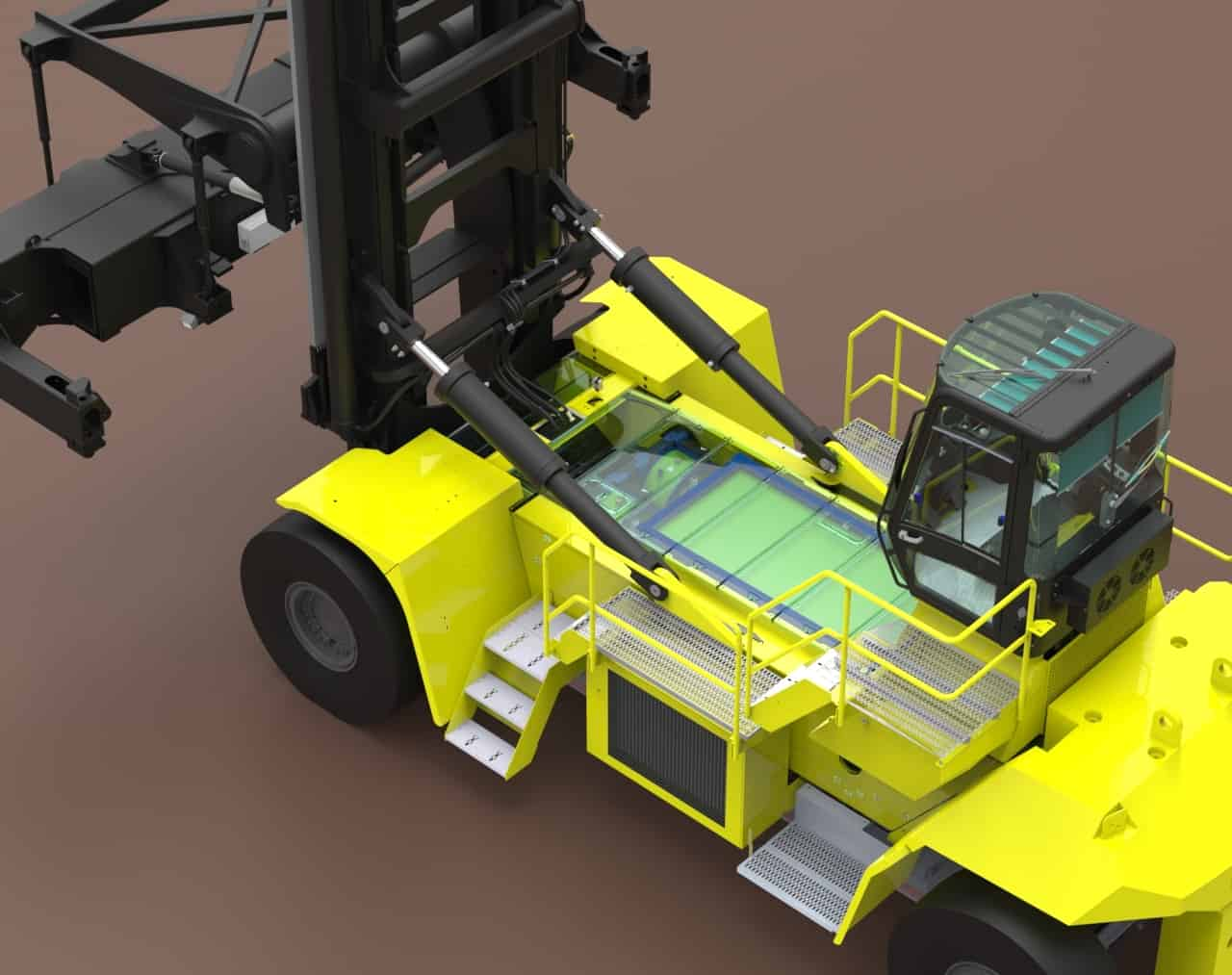 Hyster wins grant for truck development