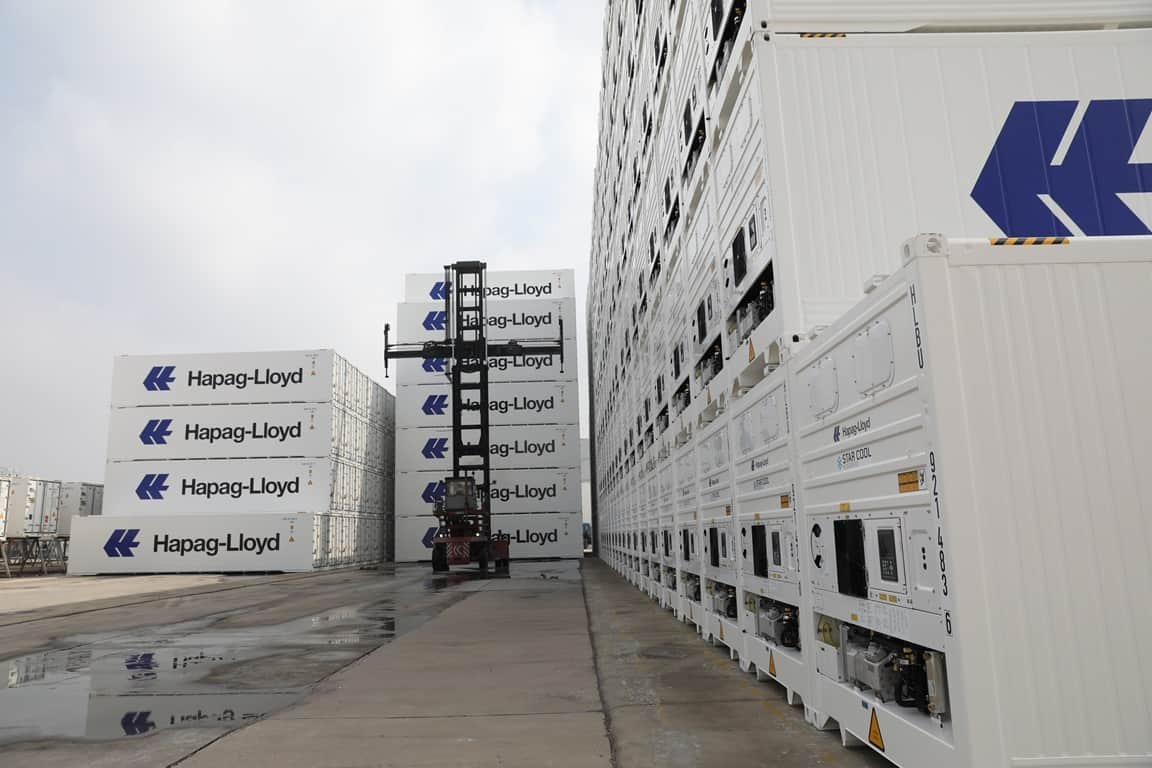 MCI to deliver 8,600 reefers to Hapag-Lloyd