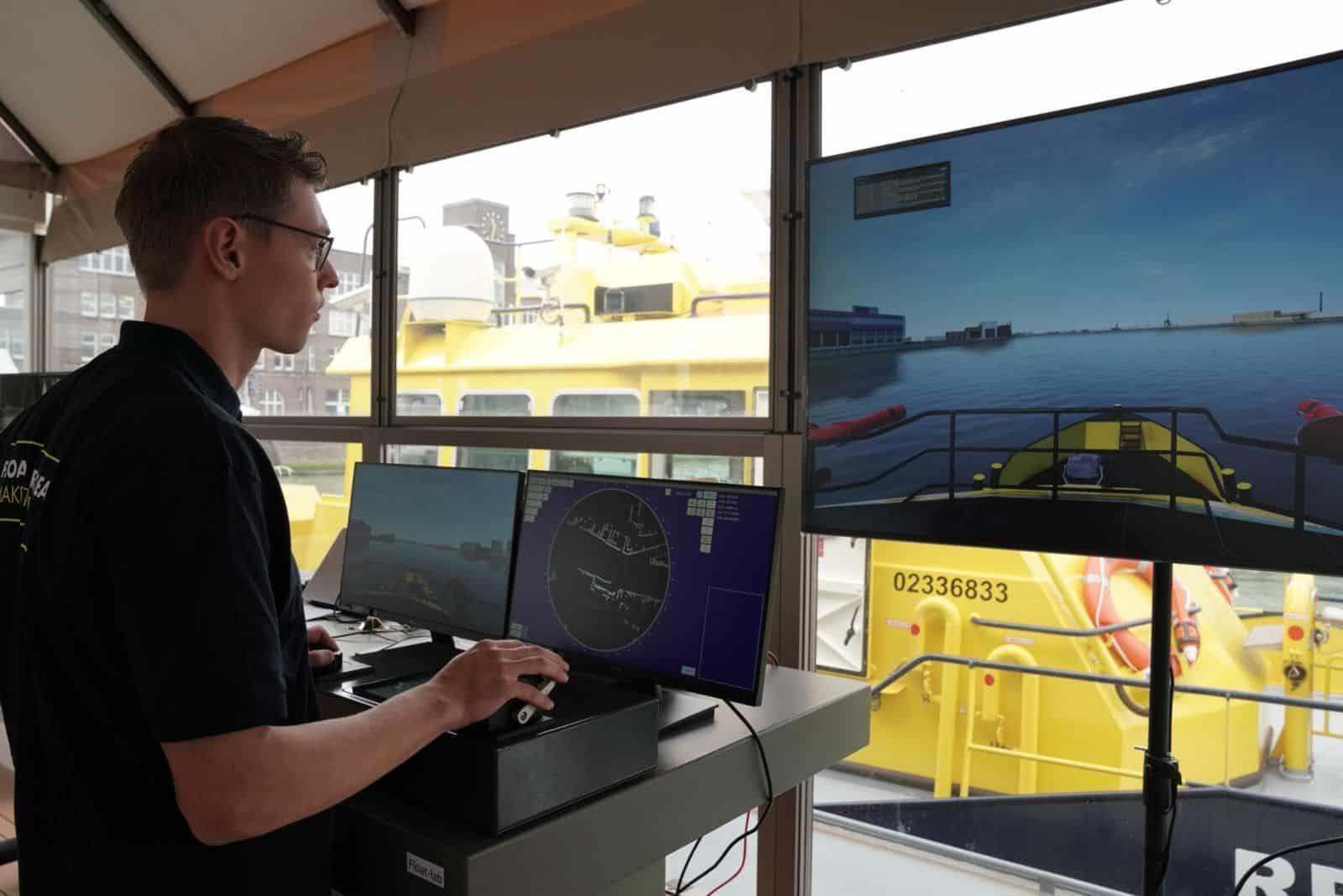 Port of Rotterdam Authority tests autonomous navigation
