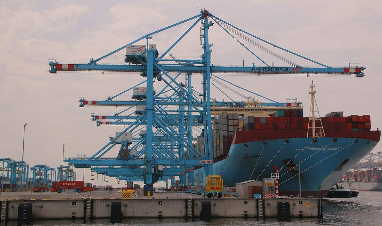 Rise in container throughput for Port of Rotterdam