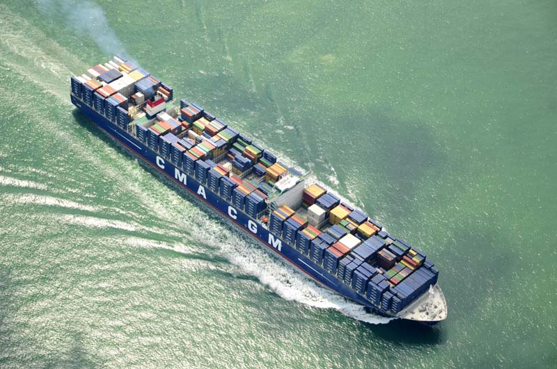 Fuel costs hit CMA CGM's profit although volumes up