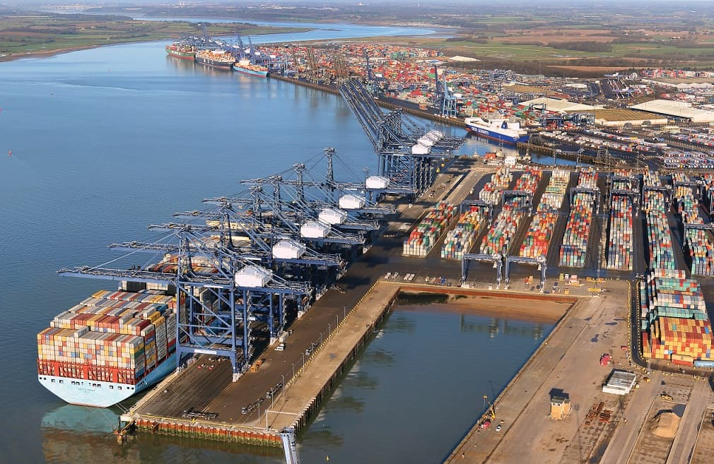 Port of Felixstowe apologises after congestion leads to vessel diversions