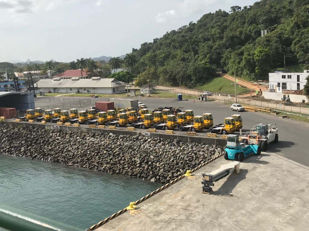 Global Port Equipment delivers range of equipment to PSA Panama