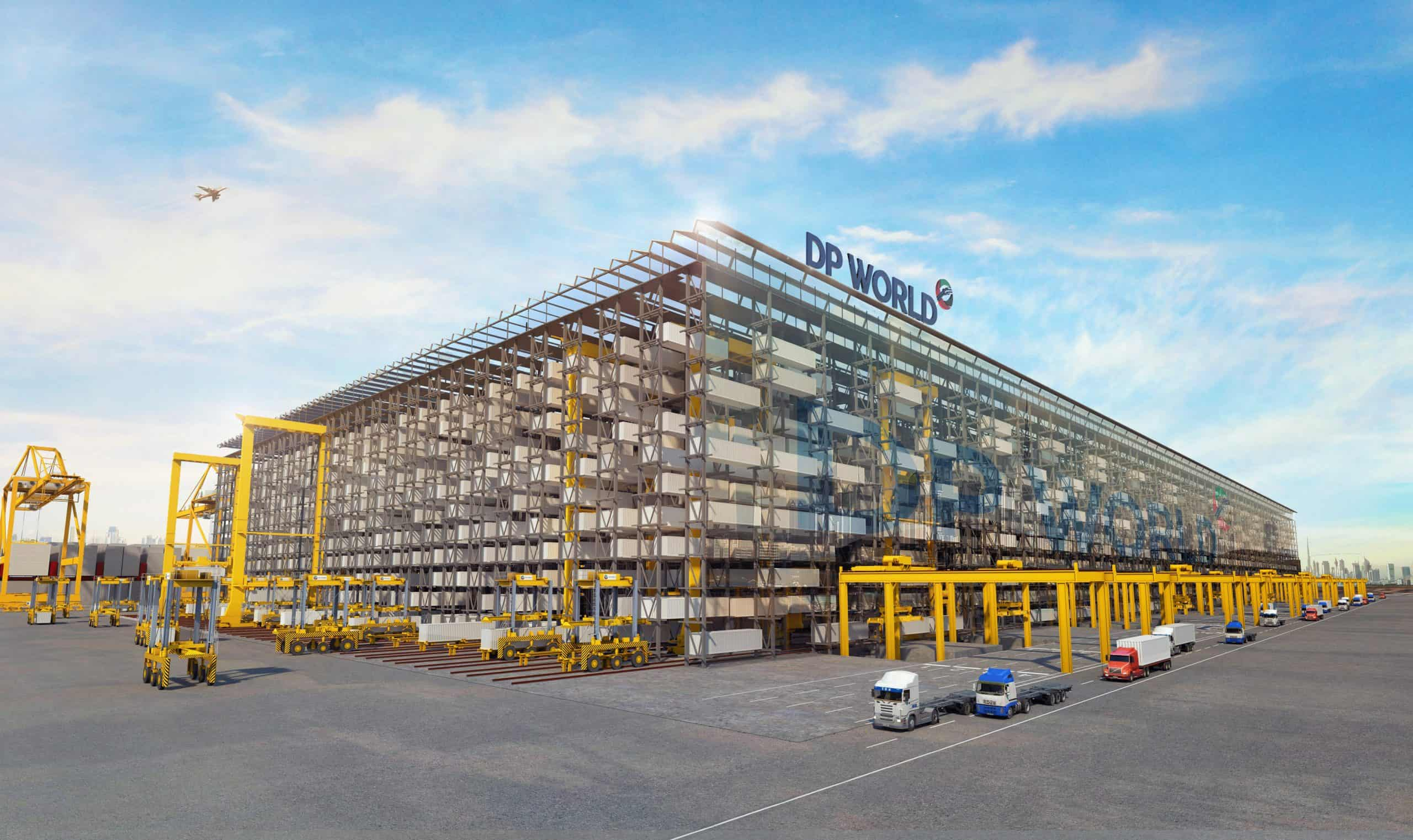DP World looks to replace yard stacking with high bay storage in Jebel Ali