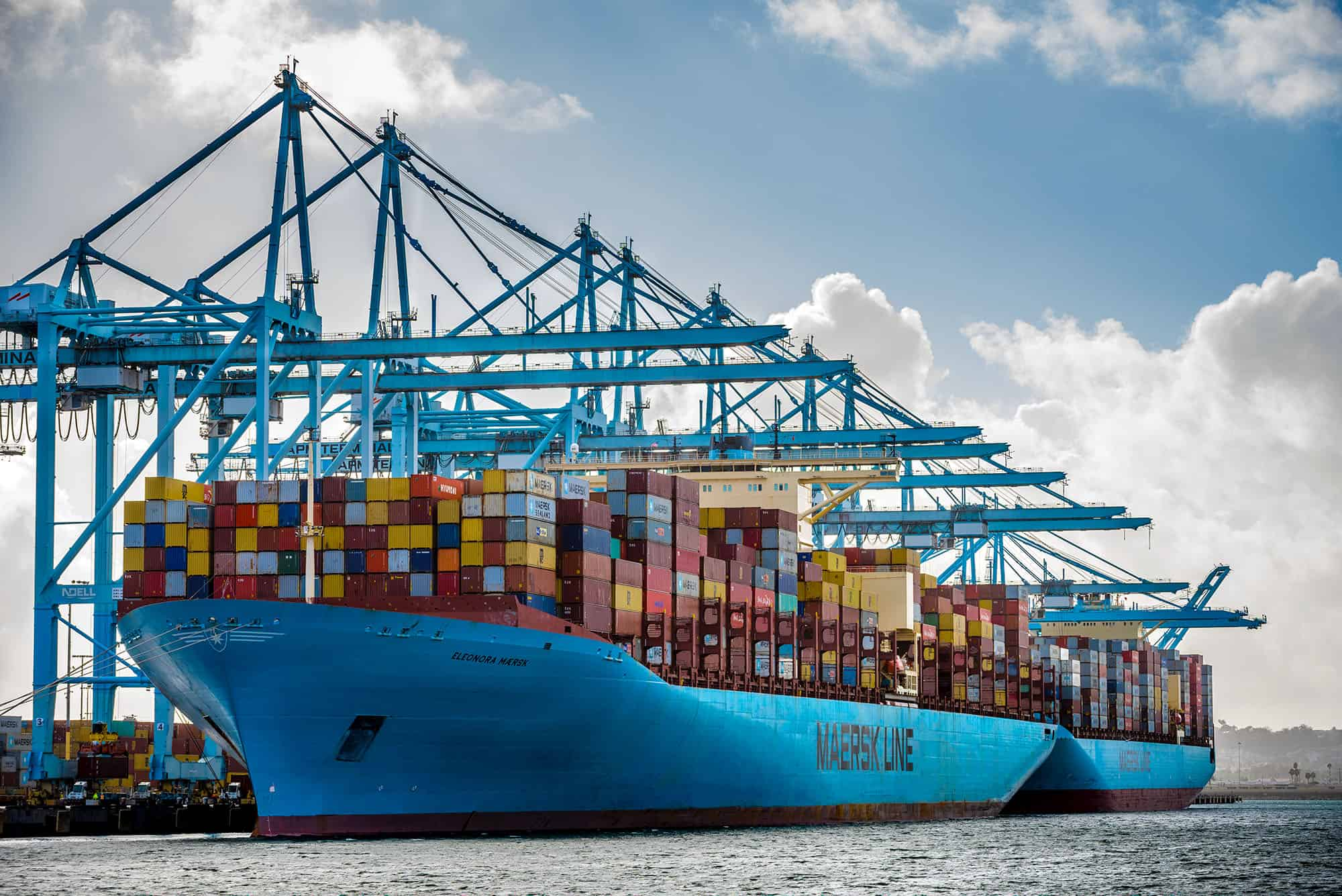 Soaring demand and supply chain bottlenecks help Maersk achieve record results