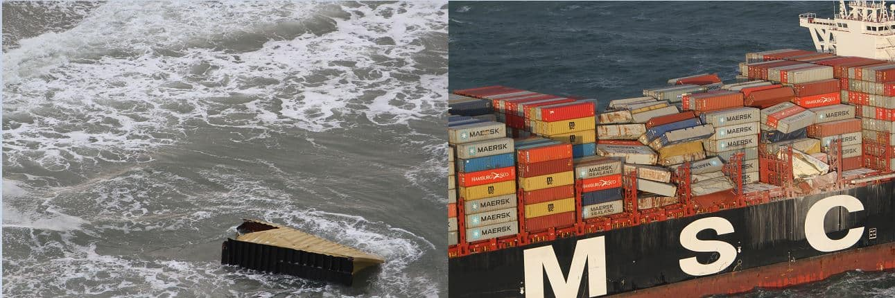 MSC cleans up after vessel loses containers in North Sea