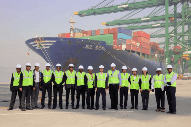 PSA terminal in Jawaharlal Nehru Port welcomes HMM service from China
