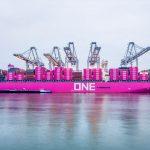 Container throughput reached 14.5m teu