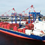 Penn Terminals received two post-panamax STS cranes