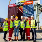 Many ports have expressed interest in the spreader according to BLOK