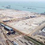 The port will have a capacity of 3.5m teu