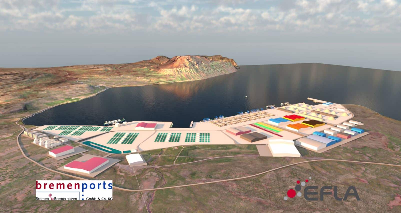 bremenports to develop Icelandic port catering to Arctic shipping route
