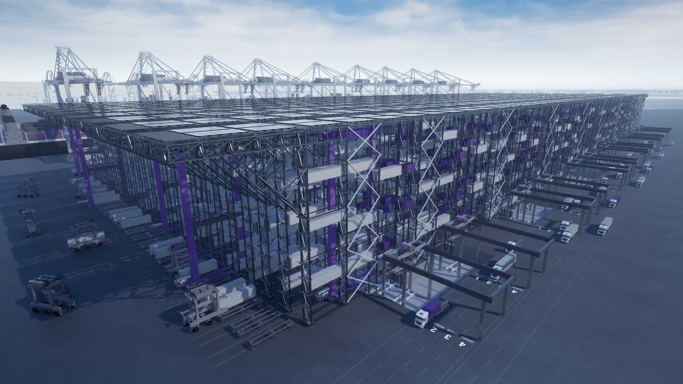 DP World and SMS Group launch high bay container storage system 'Boxbay'