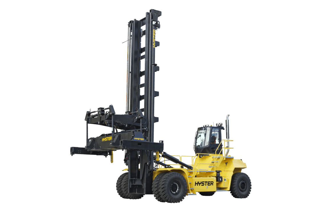 Hyster launches new top lift laden container handler