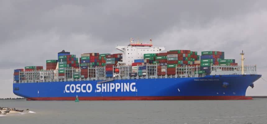COSCO signs low sulphur fuel oil supply agreement