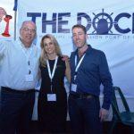 Founders of theDOCK Innovation Hub: Hannan Carmeli, Noa Schuman  and Nir Gartzman. Photo by Ezak Line Photographers