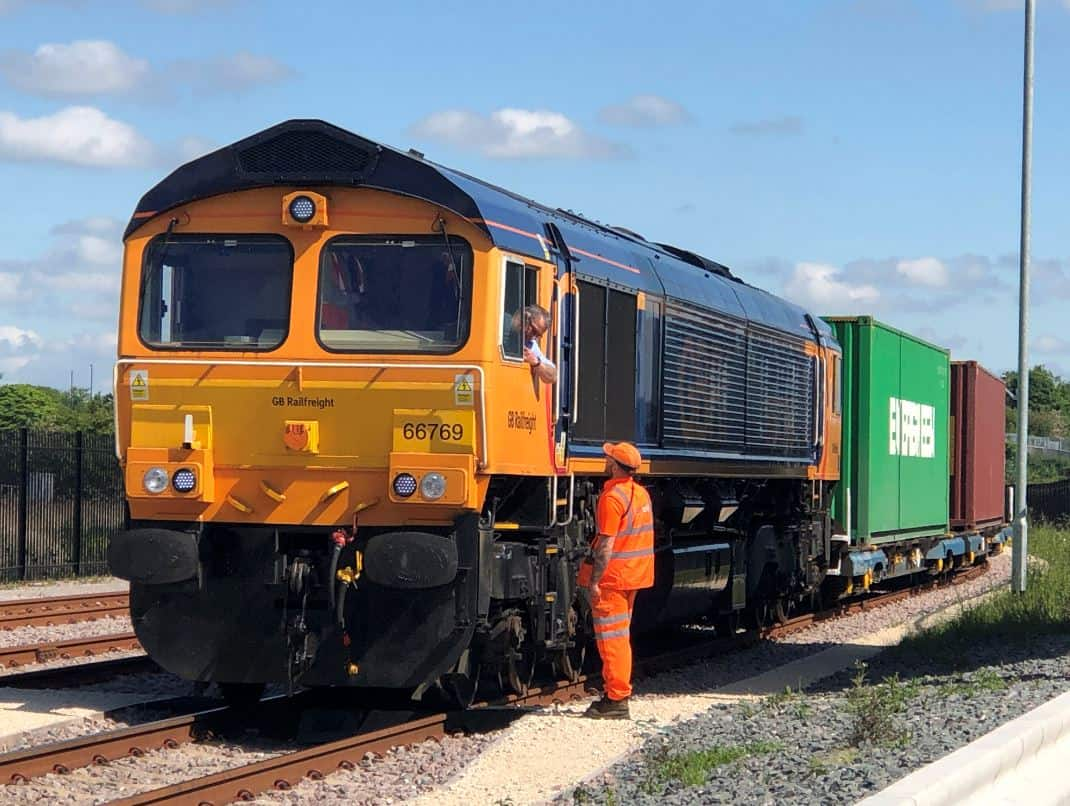 GB Railfreight launches new service from Felixstowe to Doncaster