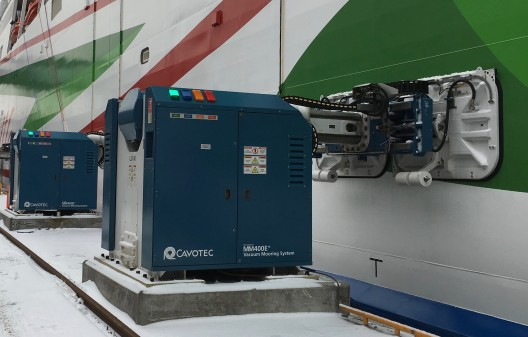 Cavotec to deliver automated mooring system to the Port of Turku