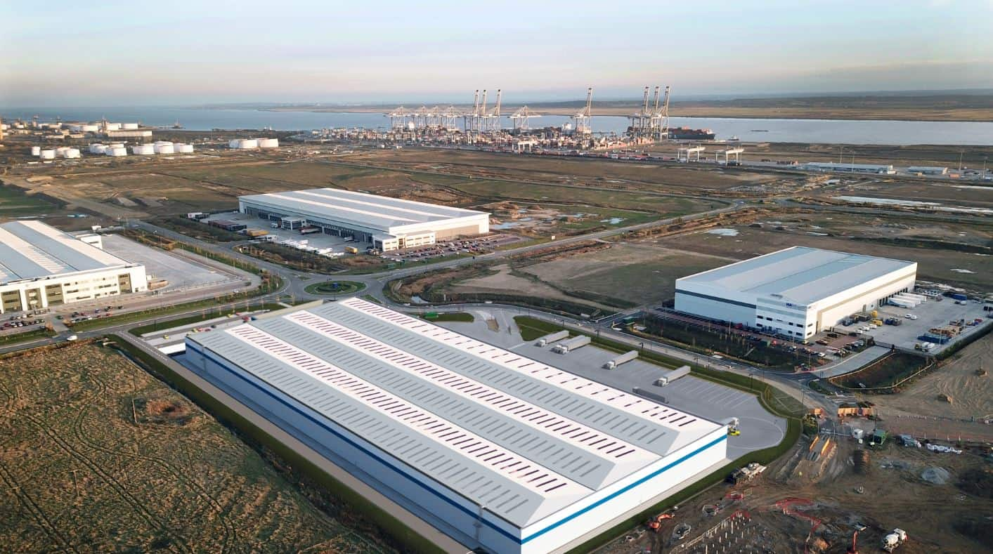 DP World begins construction of 231,000 sq ft warehouse at London Gateway