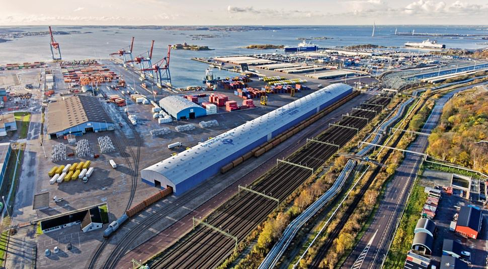 Construction of crossdocking terminal begins at Port of Gothenburg