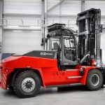 Kalmar launched a Li-on battery forklift in June