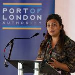 UK maritime minister Nusrat Ghani at the launch