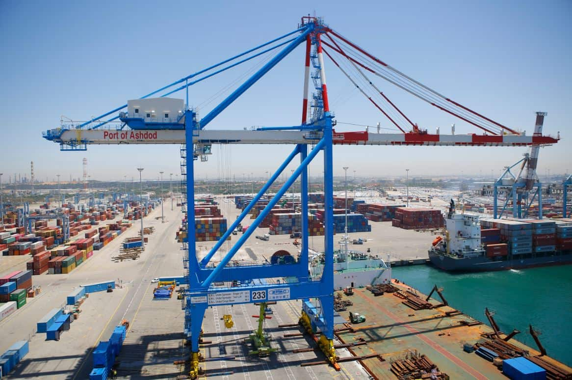 Ashdod Port invests around US$16m in port equipment