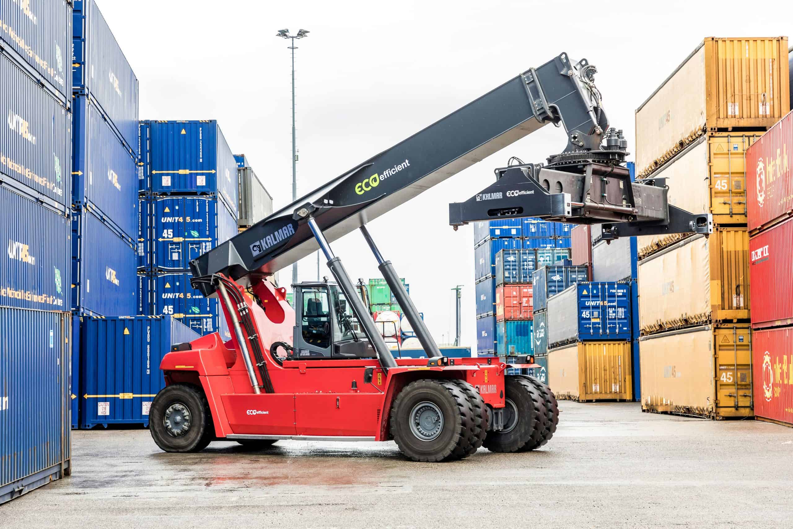 Kalmar to deliver its first eco reachstacker in Indonesia