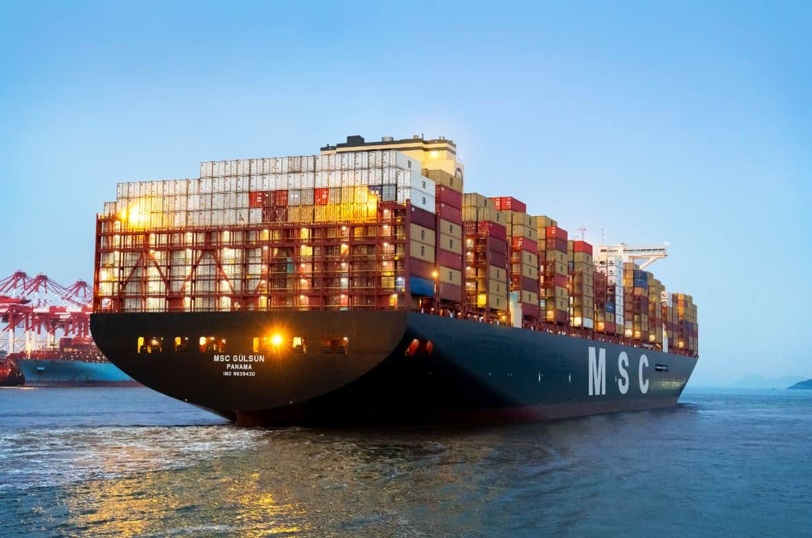 MSC's largest containership completes first voyage from Asia to Europe