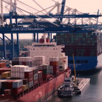 Ships at Wando Welch container terminal