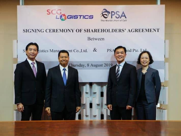 PSA Thailand and SCG Logistics launch joint venture