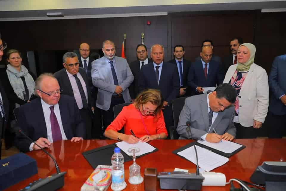 Eurogate plans to open a new container terminal at Damietta Port