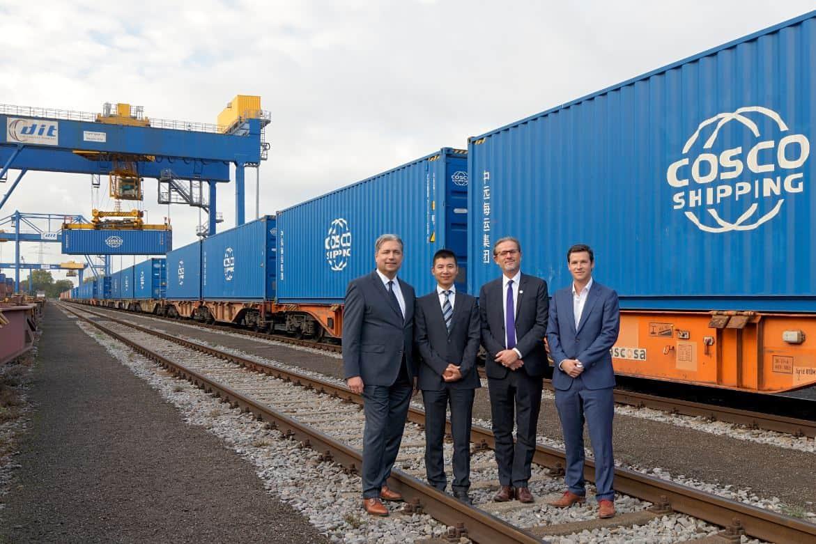Hinterland connection between Zeebrugge and Duisburg complete