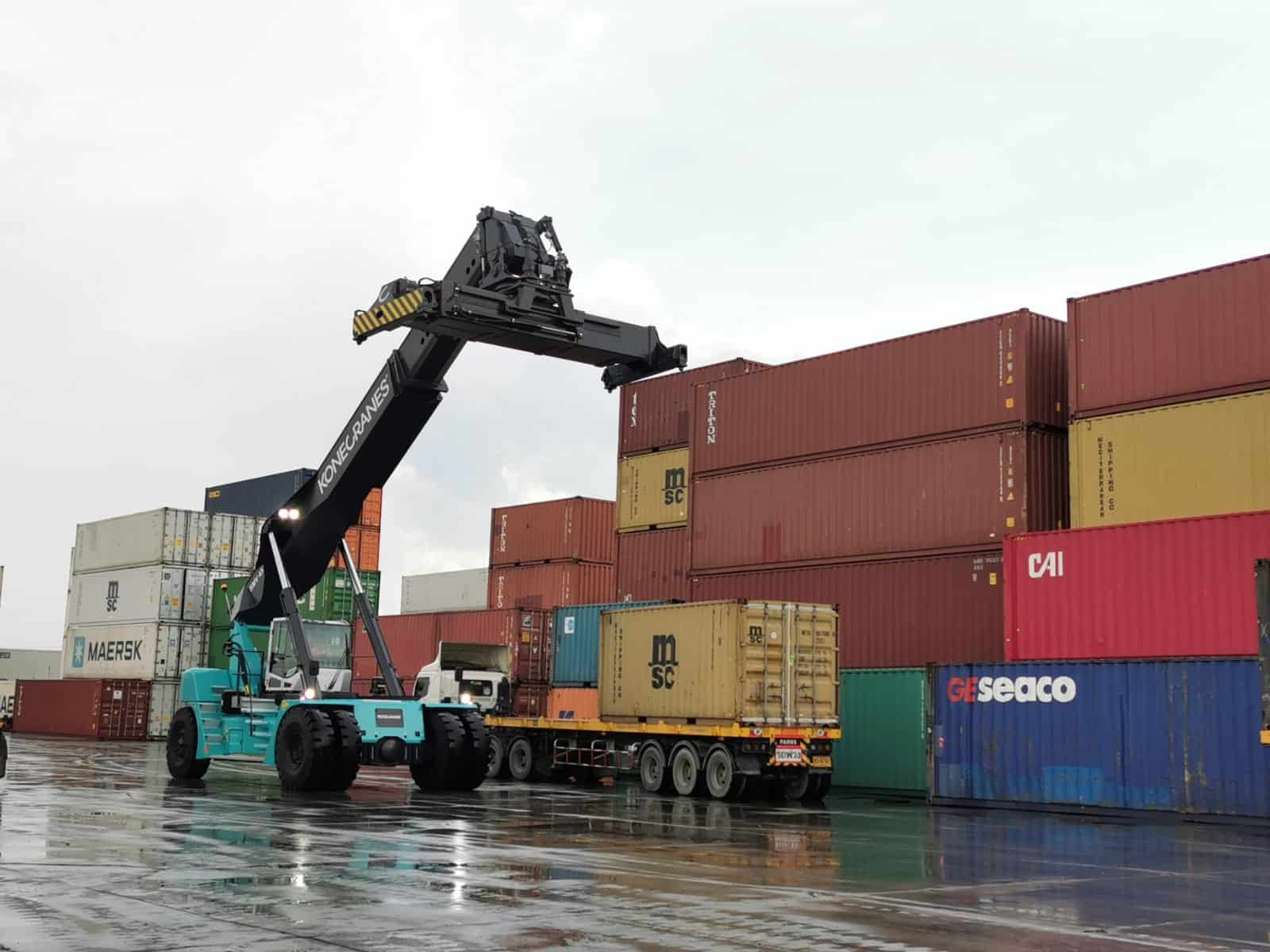 Konecranes delivers two lift trucks to Thailand