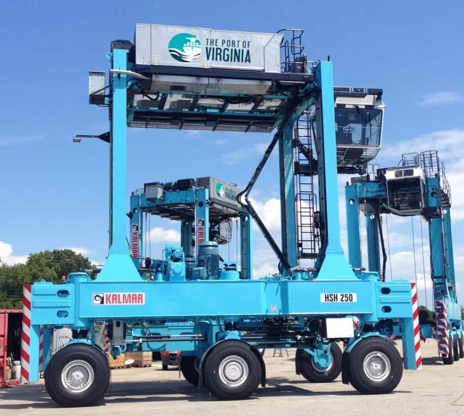 Port of Virginia invests US$23m in Kalmar hybrid equipment