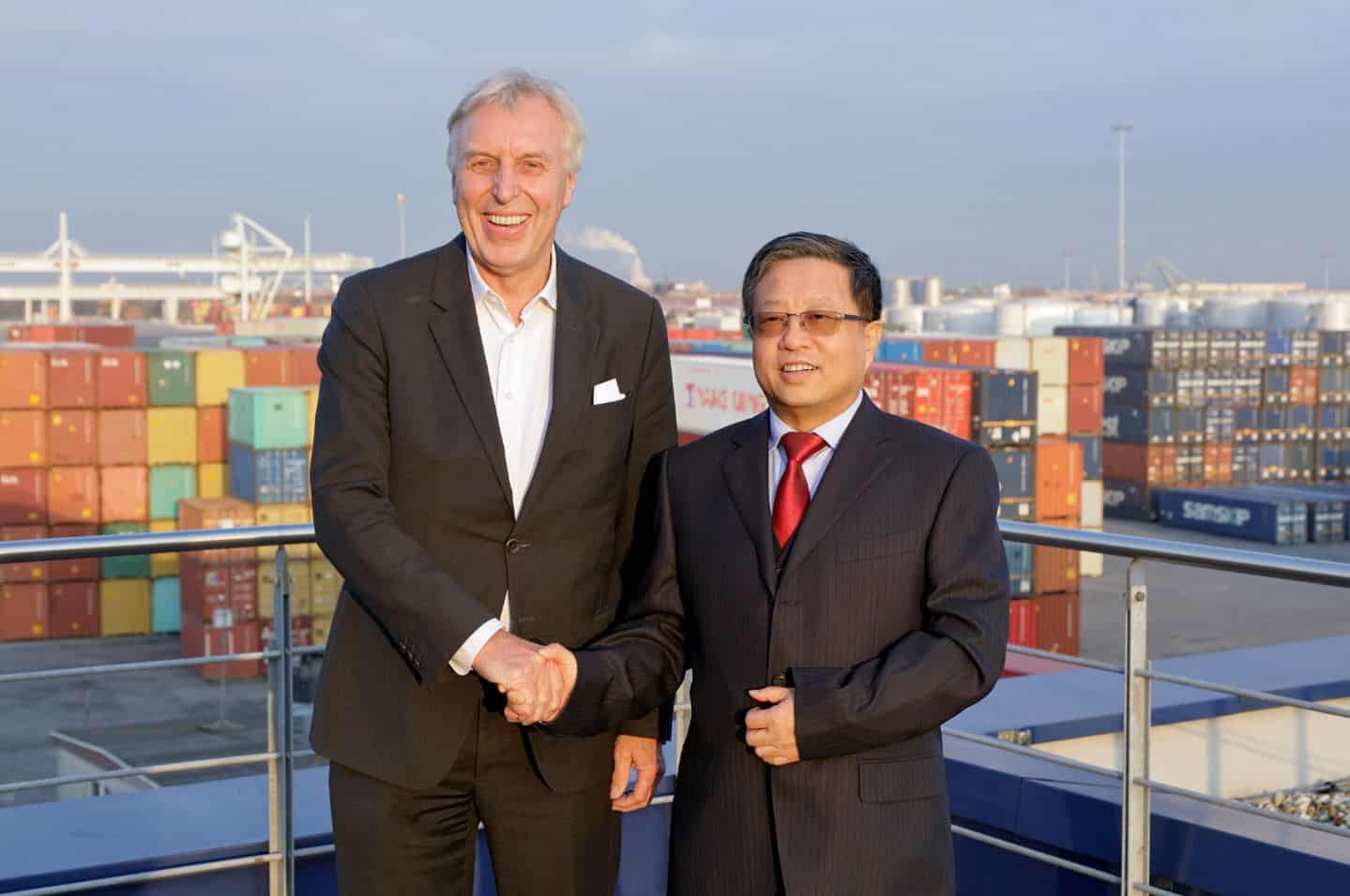 Port of Duisburg expands activities with China