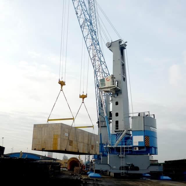 Konecranes delivers two eco-efficient mobile harbour cranes to Antwerp
