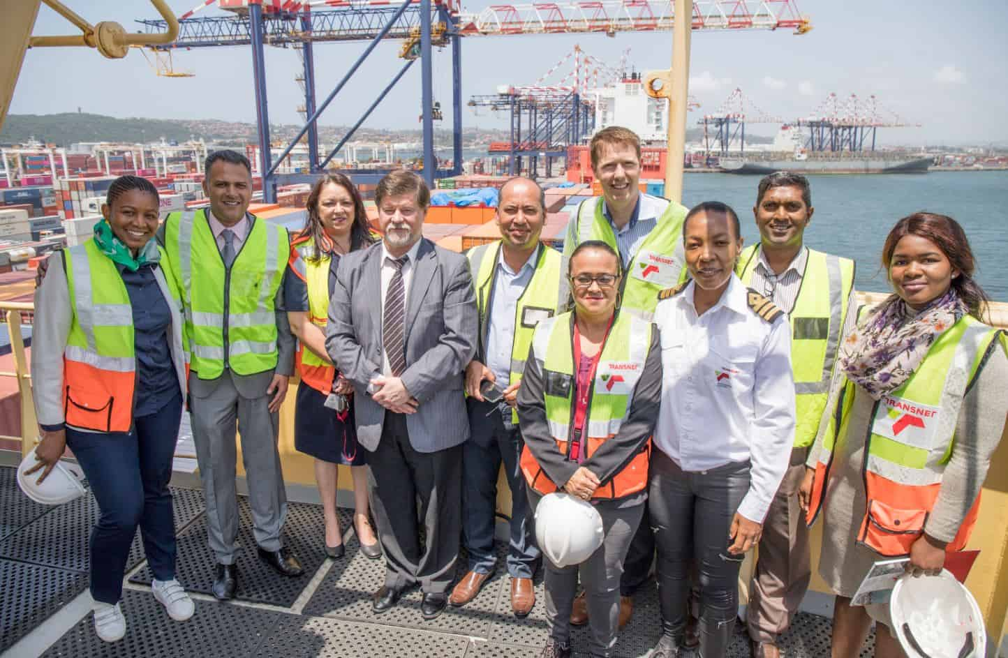 Port of Durban welcomes maiden call from new Hapag-Lloyd MIAX service