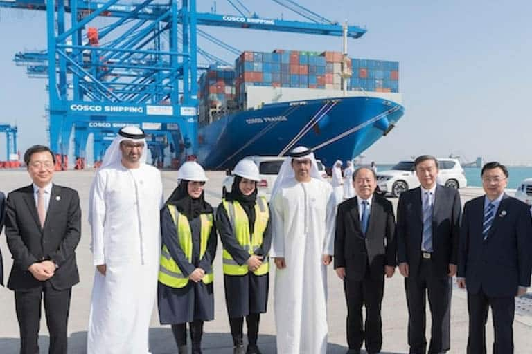 Qingdao Port buys 33% stake in COSCO's Abu Dhabi terminal