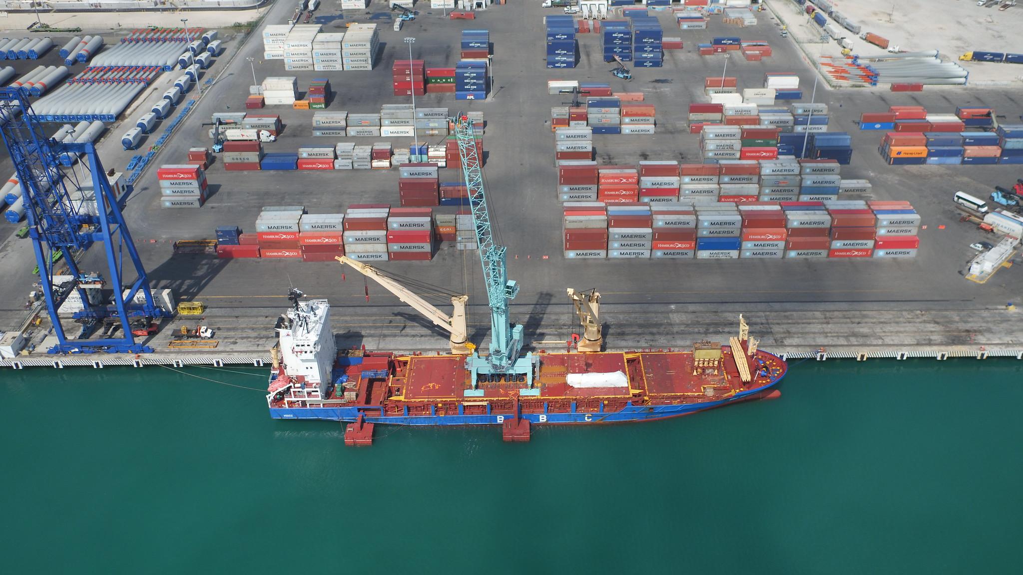 New US$4m mobile harbour crane for Port of Progreso