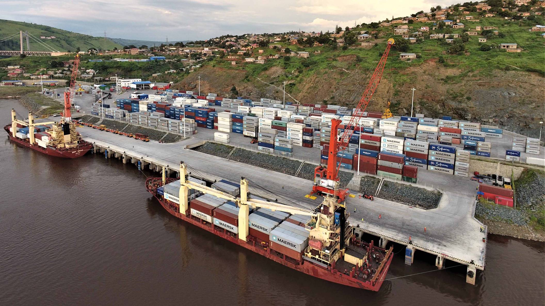 ICTSI to double container capacity at terminal in DR Congo