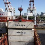 The port's modernisation is on hold for the time-being