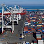 The port saw transhipment volumes rise last year