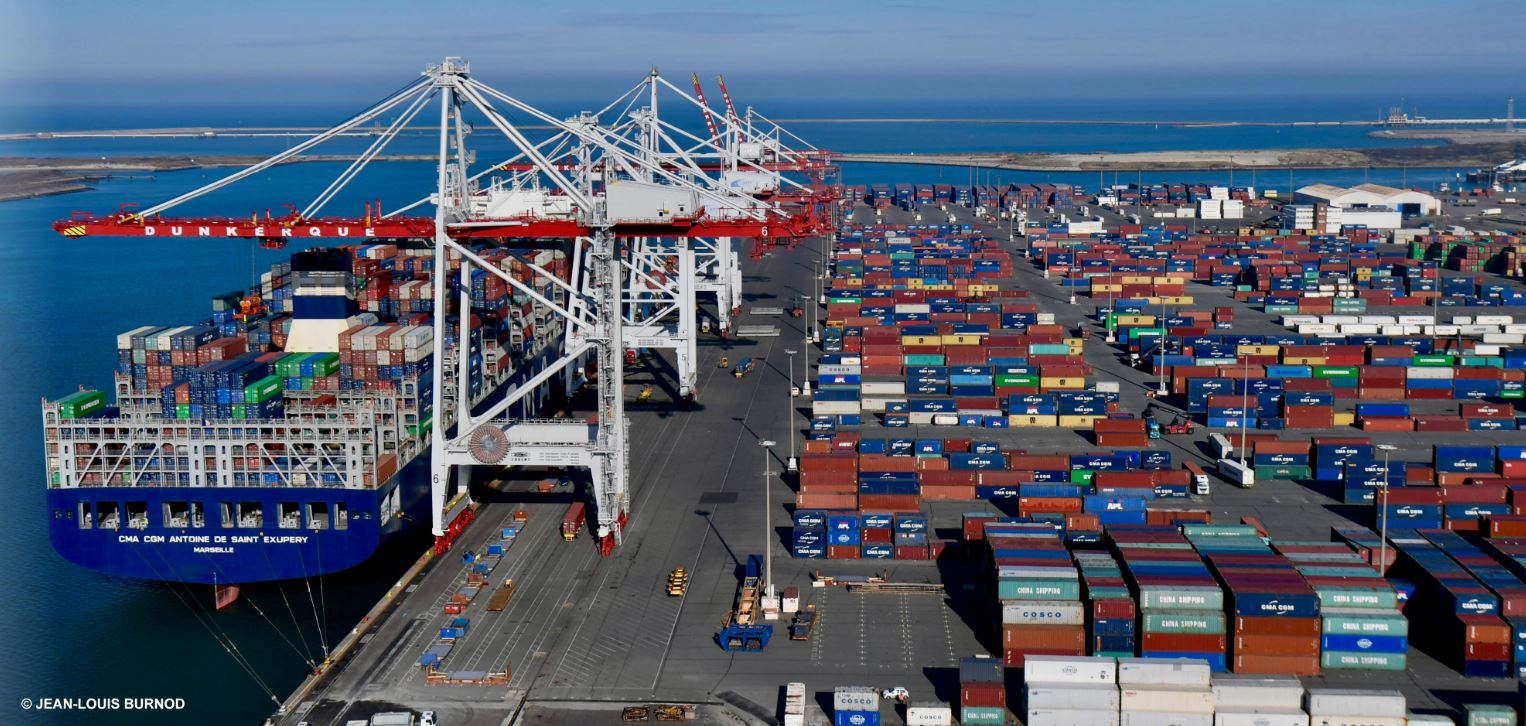 Container volumes up 7% at Dunkerque